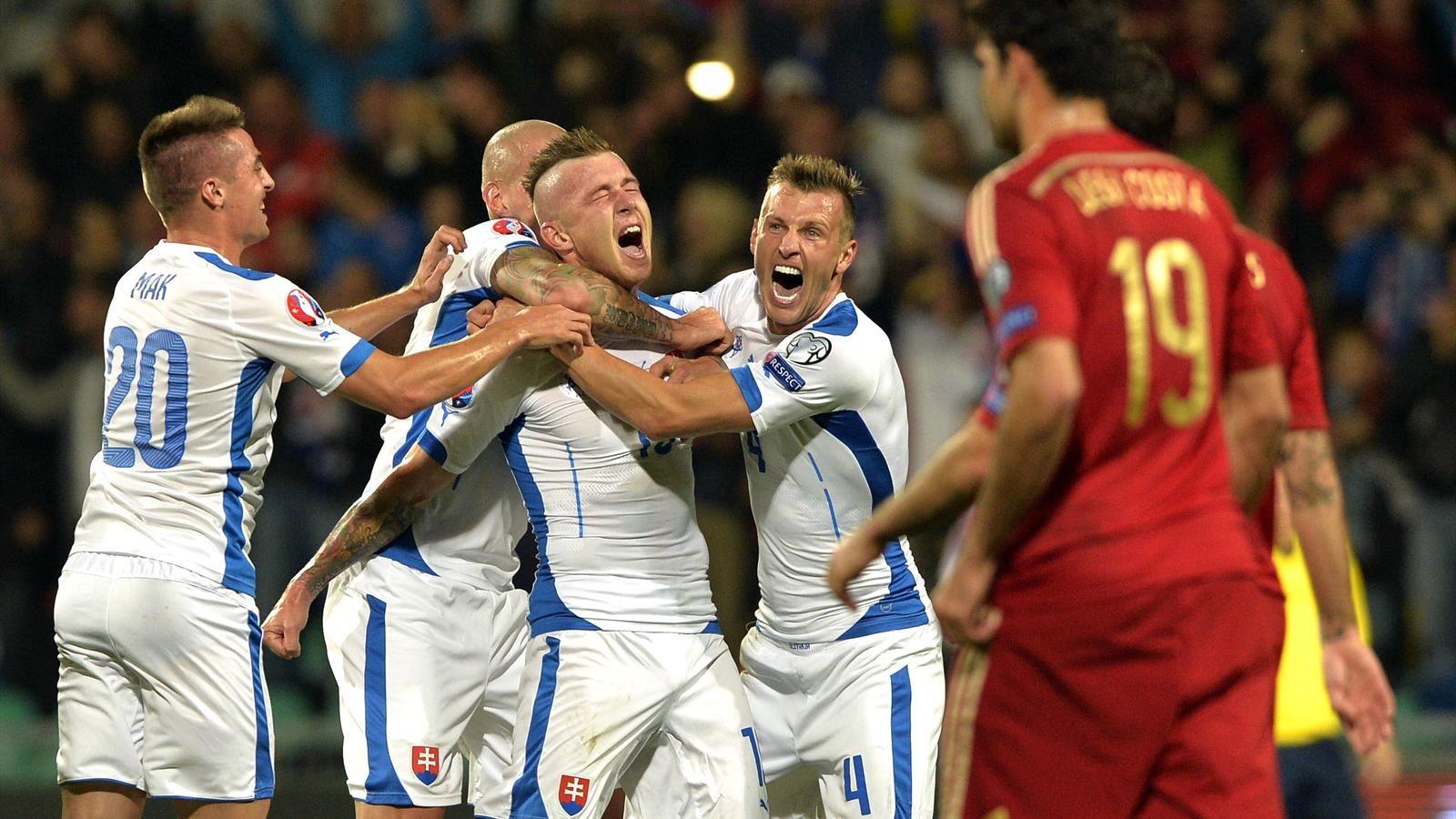 Испания — Словакия: 05-09-2015