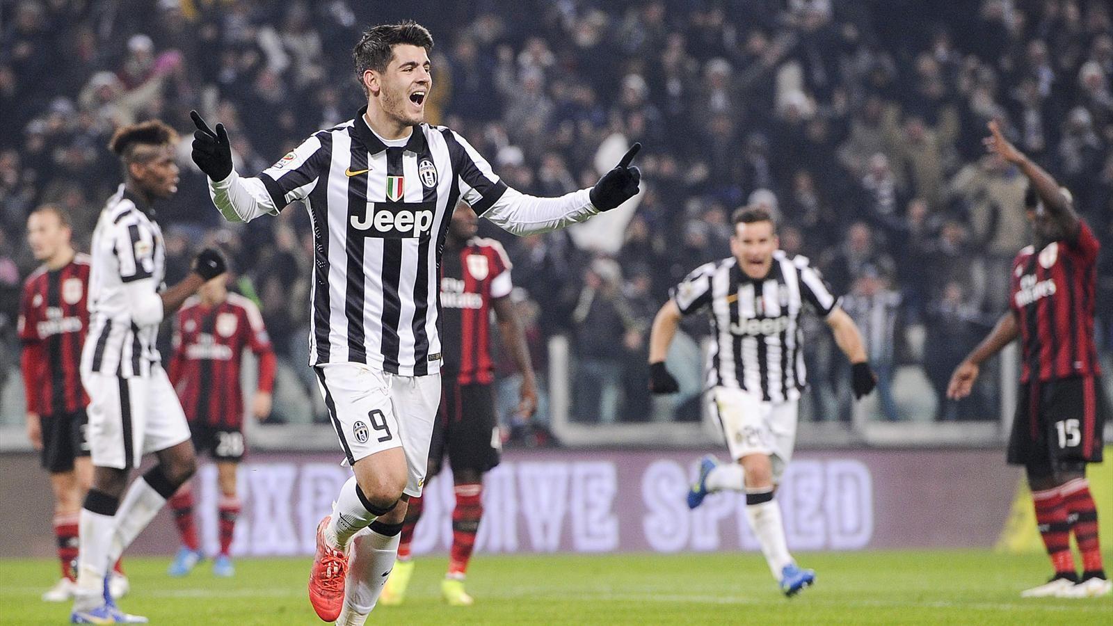 Трансляция матча Милан — Ювентус, 9 апреля 2016