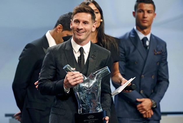 Месси получил награду лучшего футболиста Европы