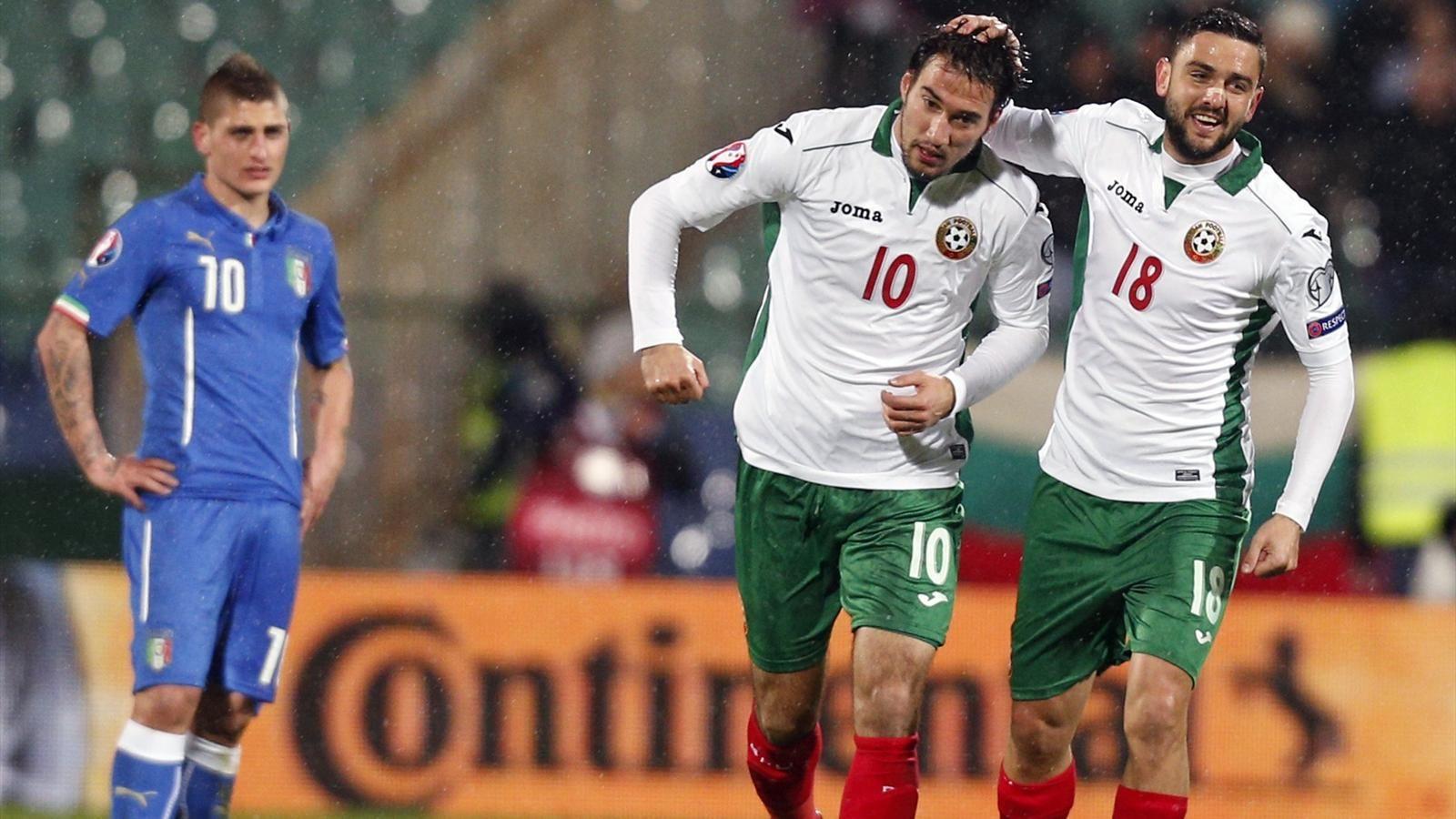 Италия — Болгария: 06-09-2015