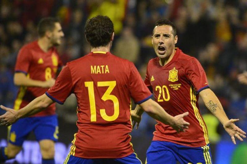 Результат матча Бельгия — Испания, 1 сентября 2016
