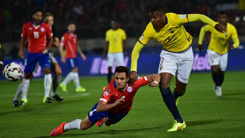 Результат матча Парагвай — Эквадор, 24 марта 2017