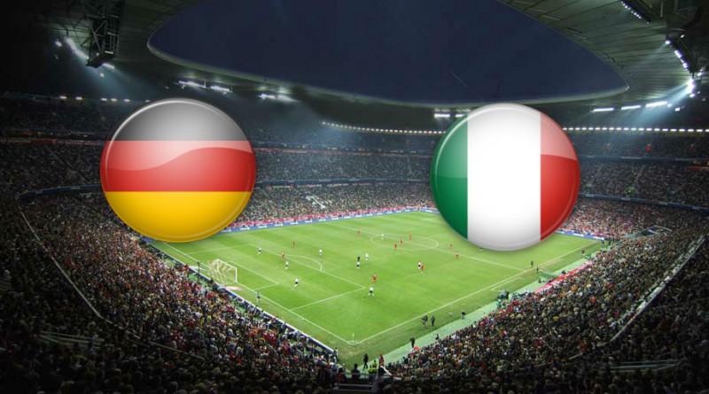 Германия – Италия: 01-07-2016