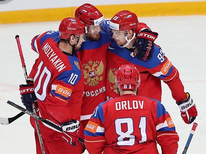 Результат матча Россия – США, 22 мая 2016