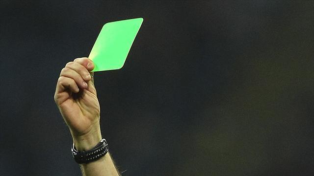 В чемпионате Италии введут зеленые карточки