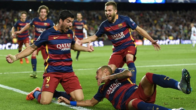 БАТЭ — Барселона: 20-10-2015