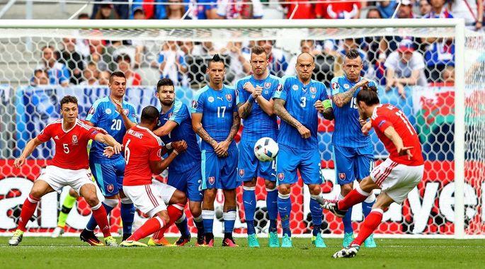 Результат матча Уэльс — Словакия, 11 июня 2016