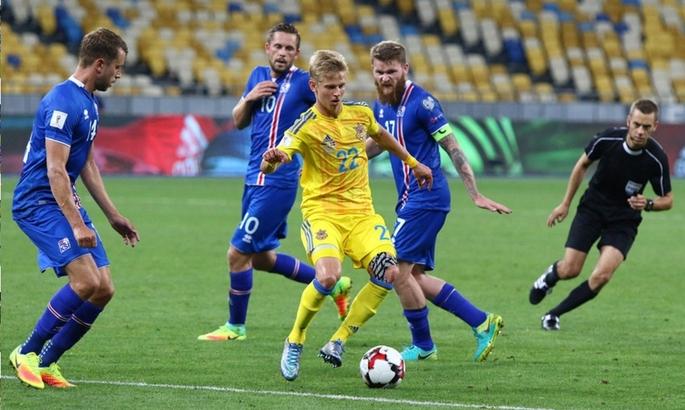 Результат матча Исландия — Украина, 5 сентября