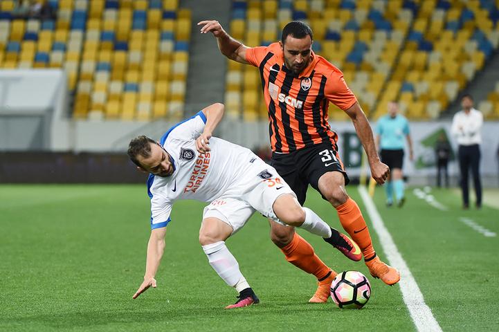 Результат матча Шахтер — Истанбул ББ, 25 августа 2016