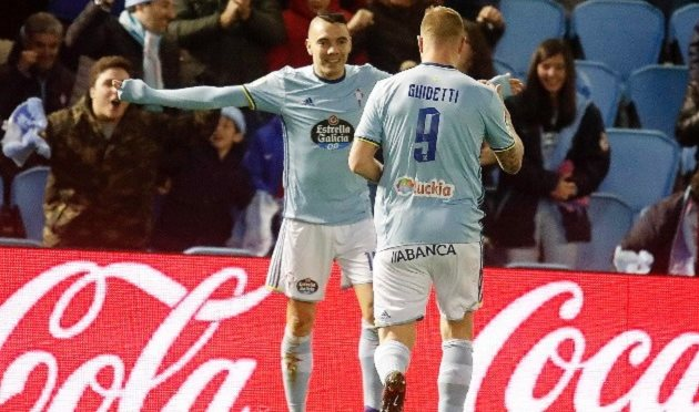 Результат матча Сельта — Малага, 8 января 2016