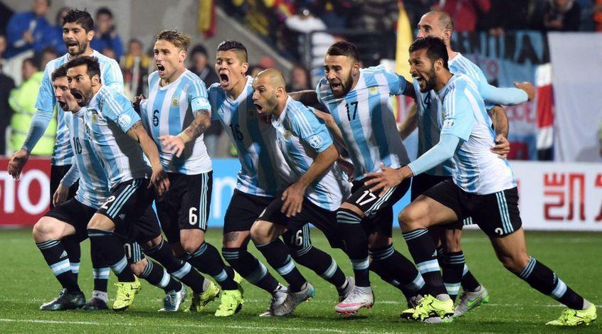 Результат матча Аргентина — Колумбия, 16 ноября 2016