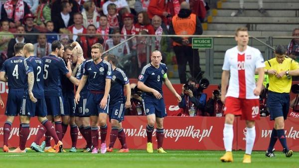 Шотландия — Польша: 08-10-2015