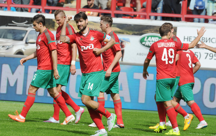 Локомотив — Скендербеу: 01-10-2015