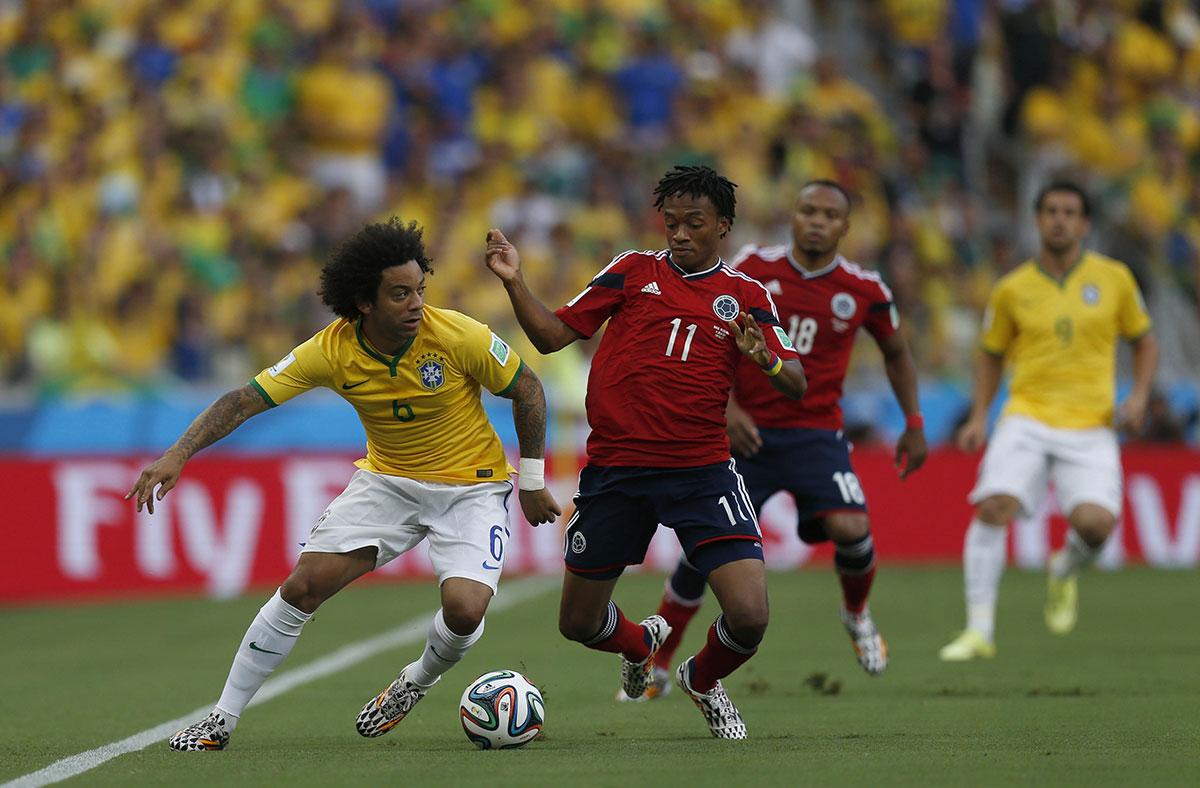 Трансляция матча Бразилия — Колумбия, 7 сентября 2016
