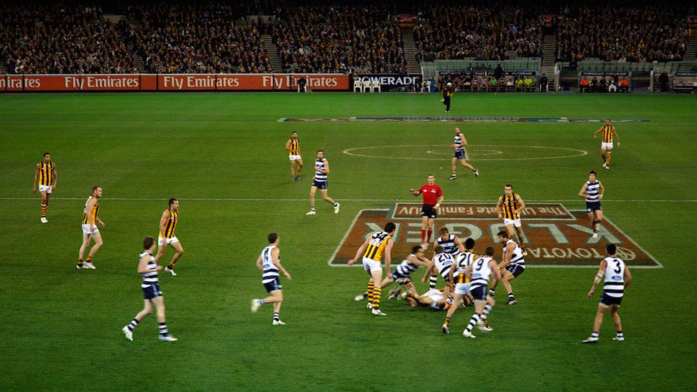 Geelong-vs-Hawthorn-Australian-football