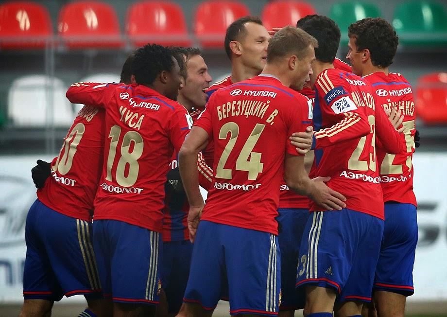 ЦСКА — Уфа: 31-10-2015