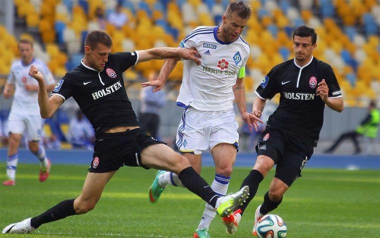 Заря — Динамо Киев: 30-08-2015