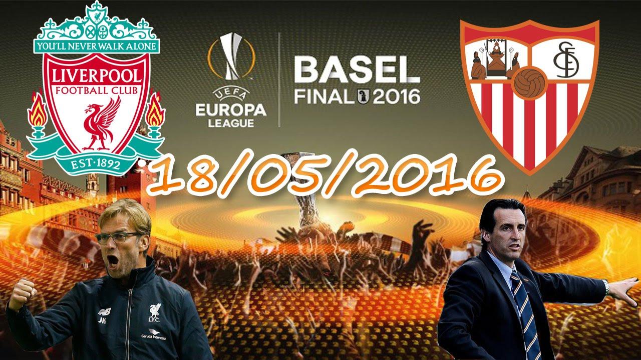 Трансляция матча Ливерпуль — Севилья, 18 мая 2016