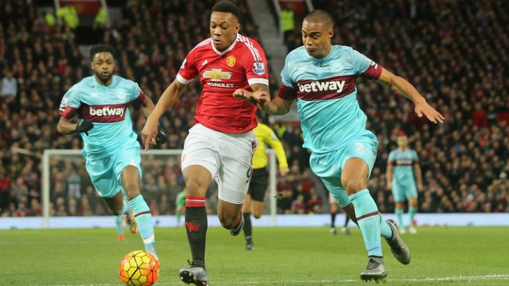 Результат матча Манчестер Юнайтед — Вест Хэм, 13 августа