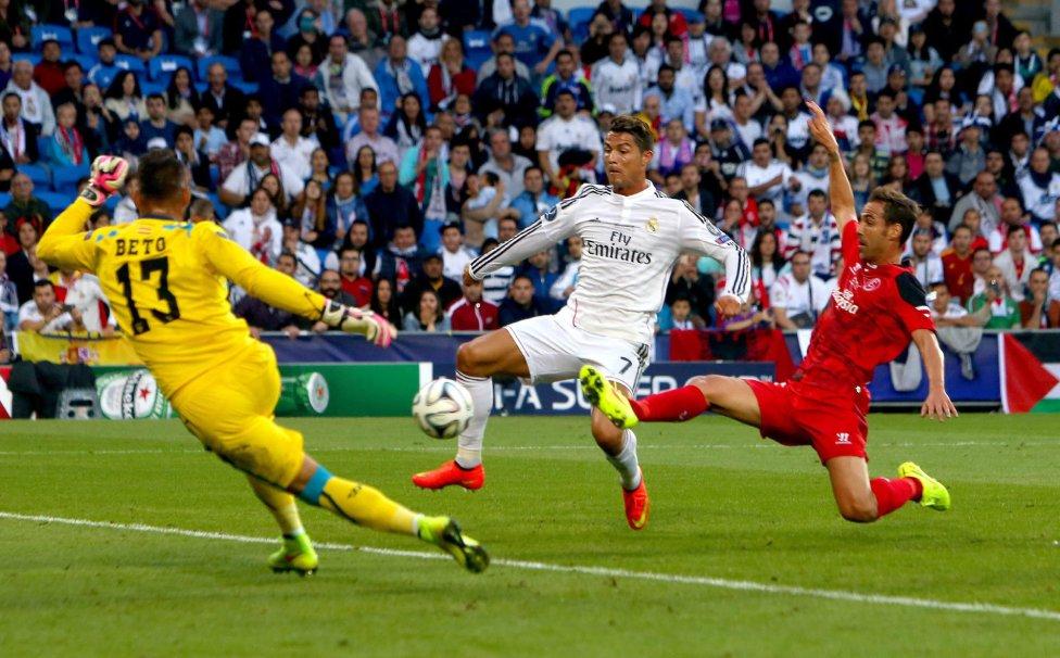 Трансляция матча Реал Мадрид — Севилья, 09 августа 2016