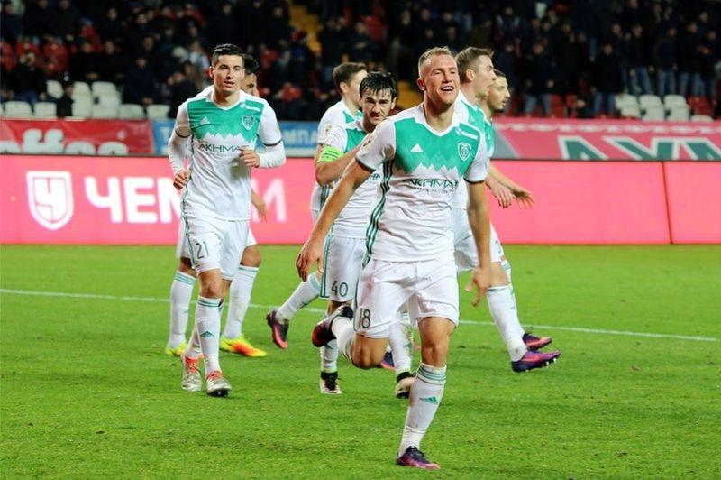 Трансляция матча Терек — Томь, 21 ноября 2016